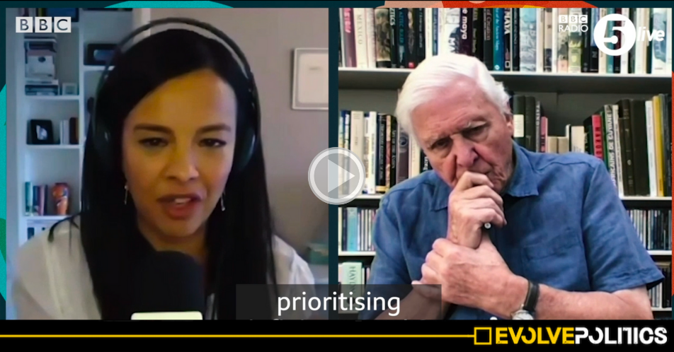 WATCH: David Attenborough just came out as an anti-Capitalist [VIDEO]
