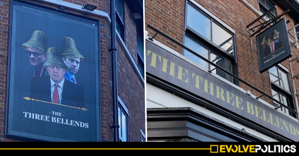 Liverpool pub sparks hilarity after installing anti-Tory sign and rebranding as