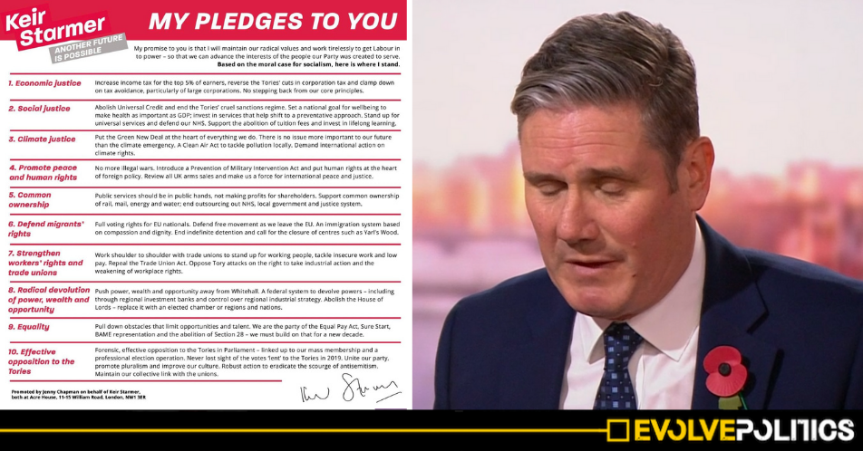 Fact Check: Yes, Keir Starmer has broken or rowed back a large proportion of his Labour Leadership Pledges already