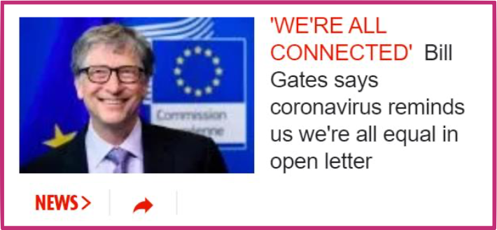 The S*n Bill Gates Covid Conspiracy Theory