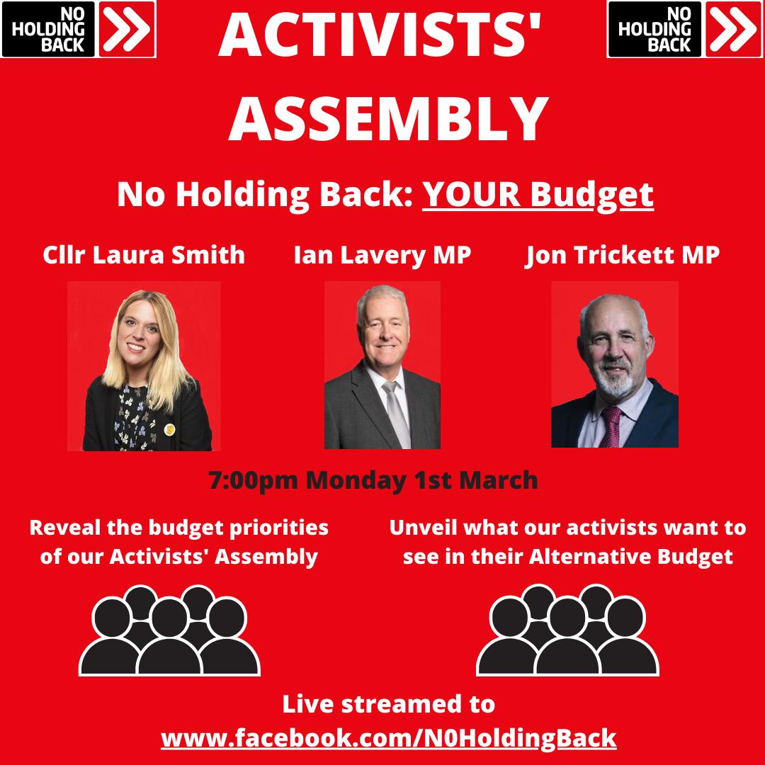 No Holding Back Activists' Assembly